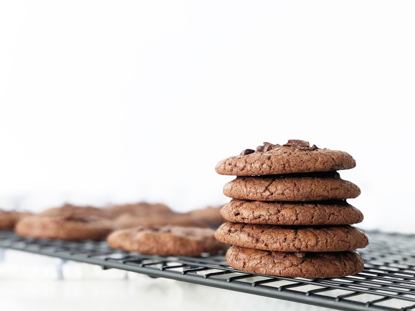 Chocolate Chocolate Chip Cookies - A Pretty Life In The ...