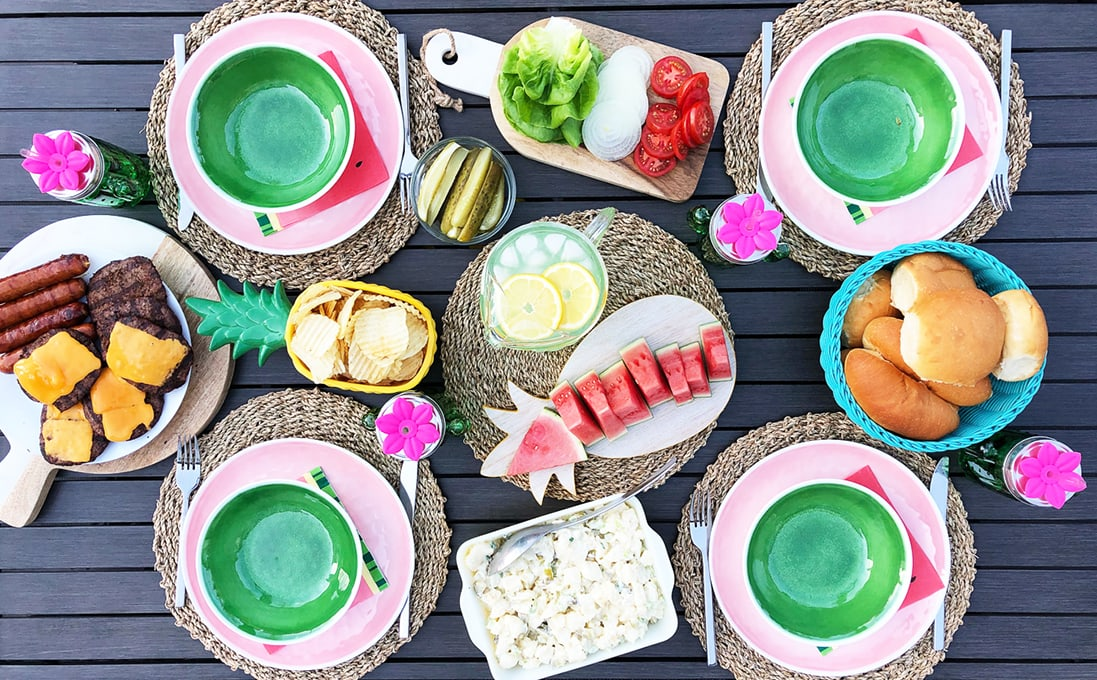 Family Friendly Outdoor Entertaining