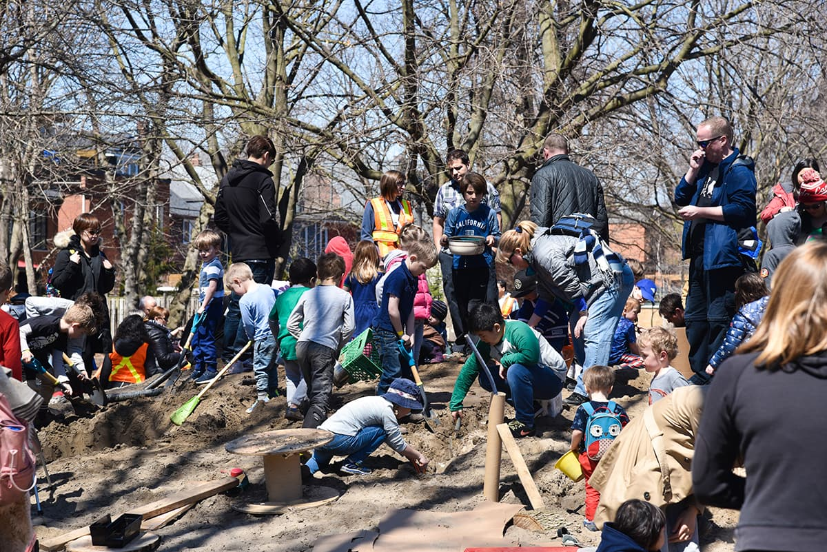 Springfree & Earth Day Canada Pop Up Adventure Playground