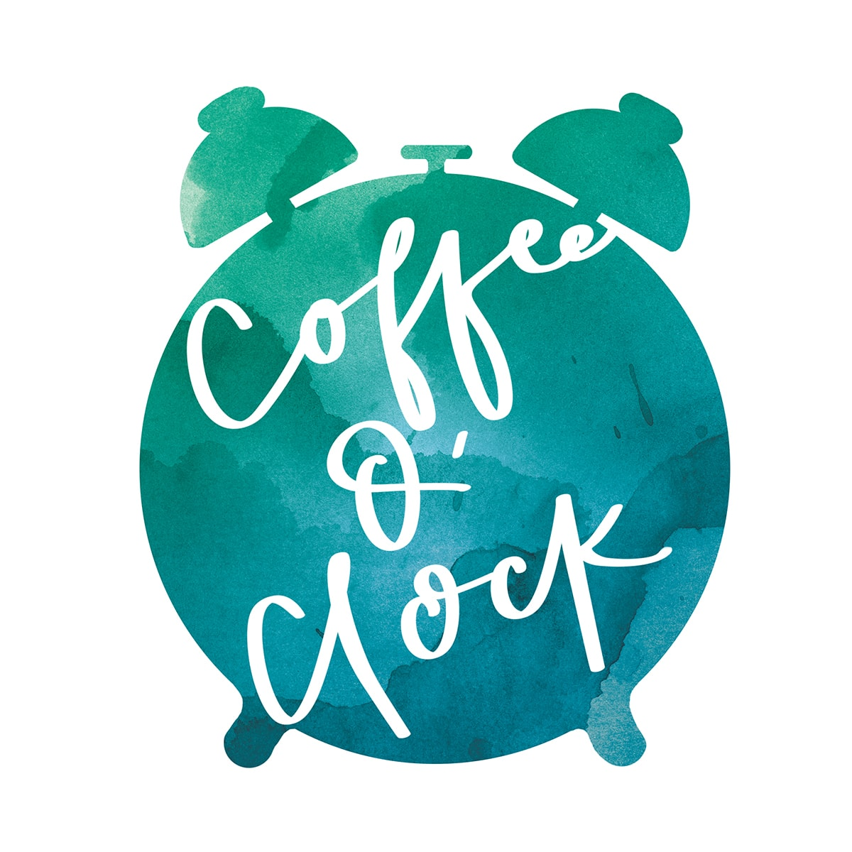 It's Coffee O'Clock! FREE PRINTABLE