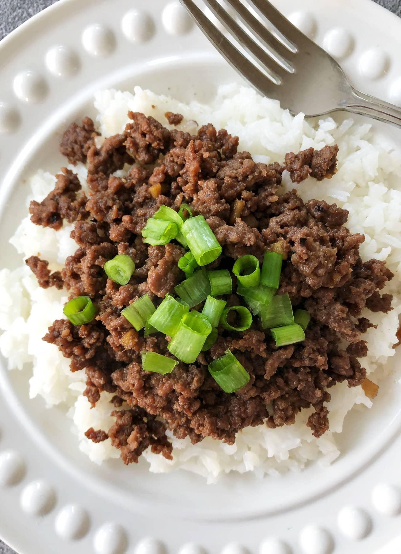 30 Minute Korean Beef