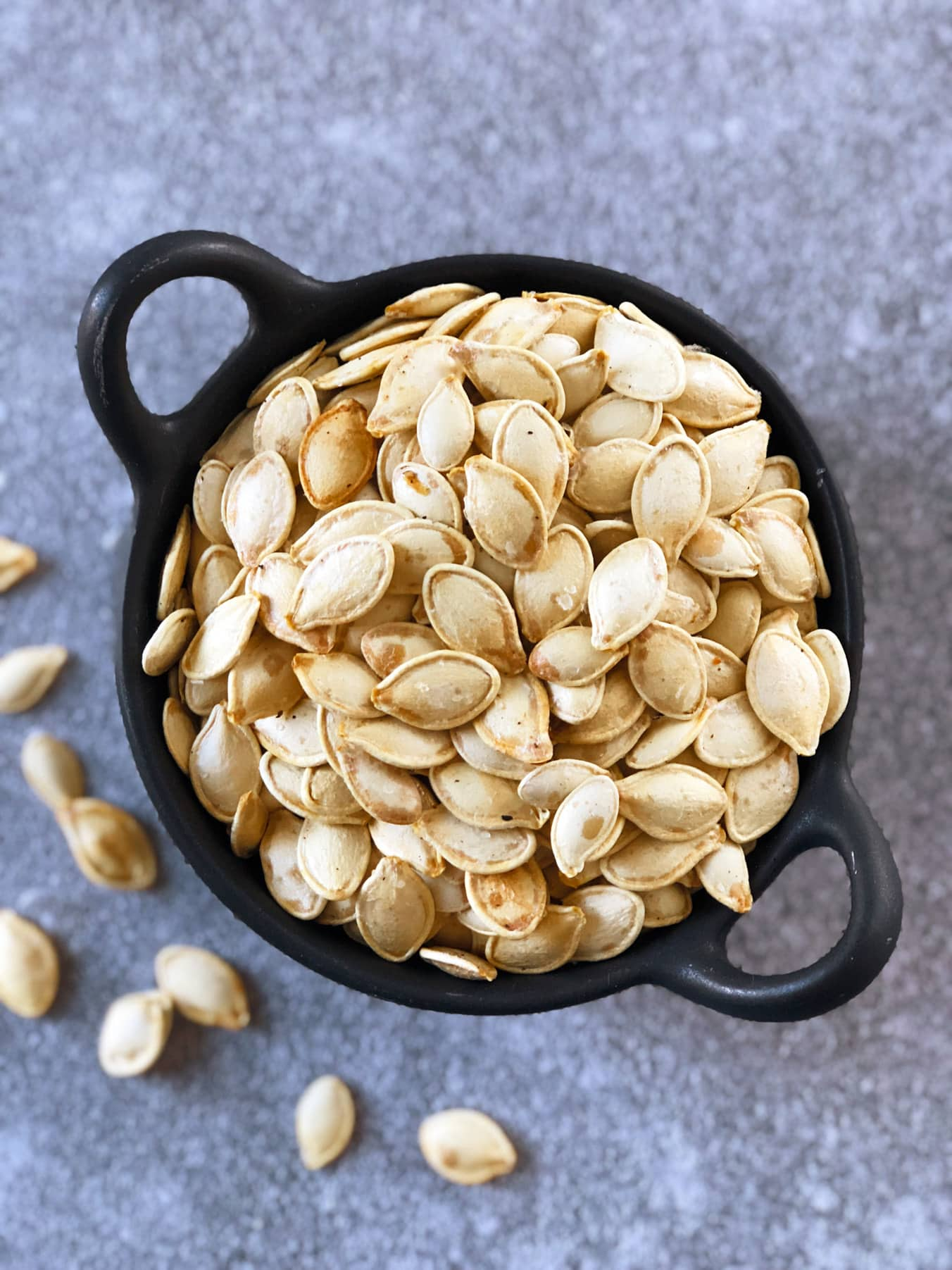 Airfryer Roasted Pumpkin Seeds