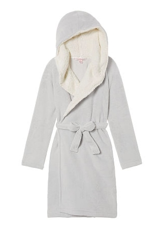 Fleece Lined Hooded Robe from Victoria's Secret