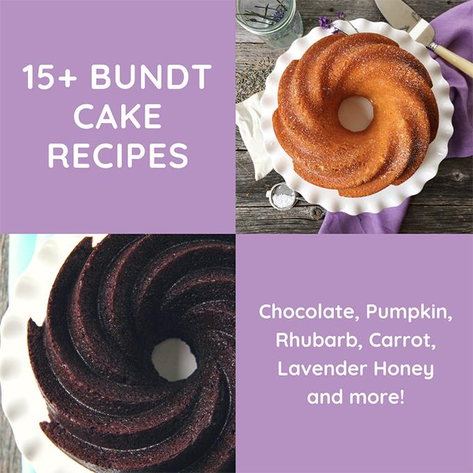Bundt Cake recipes and Bundt Cake baking tips & tricks
