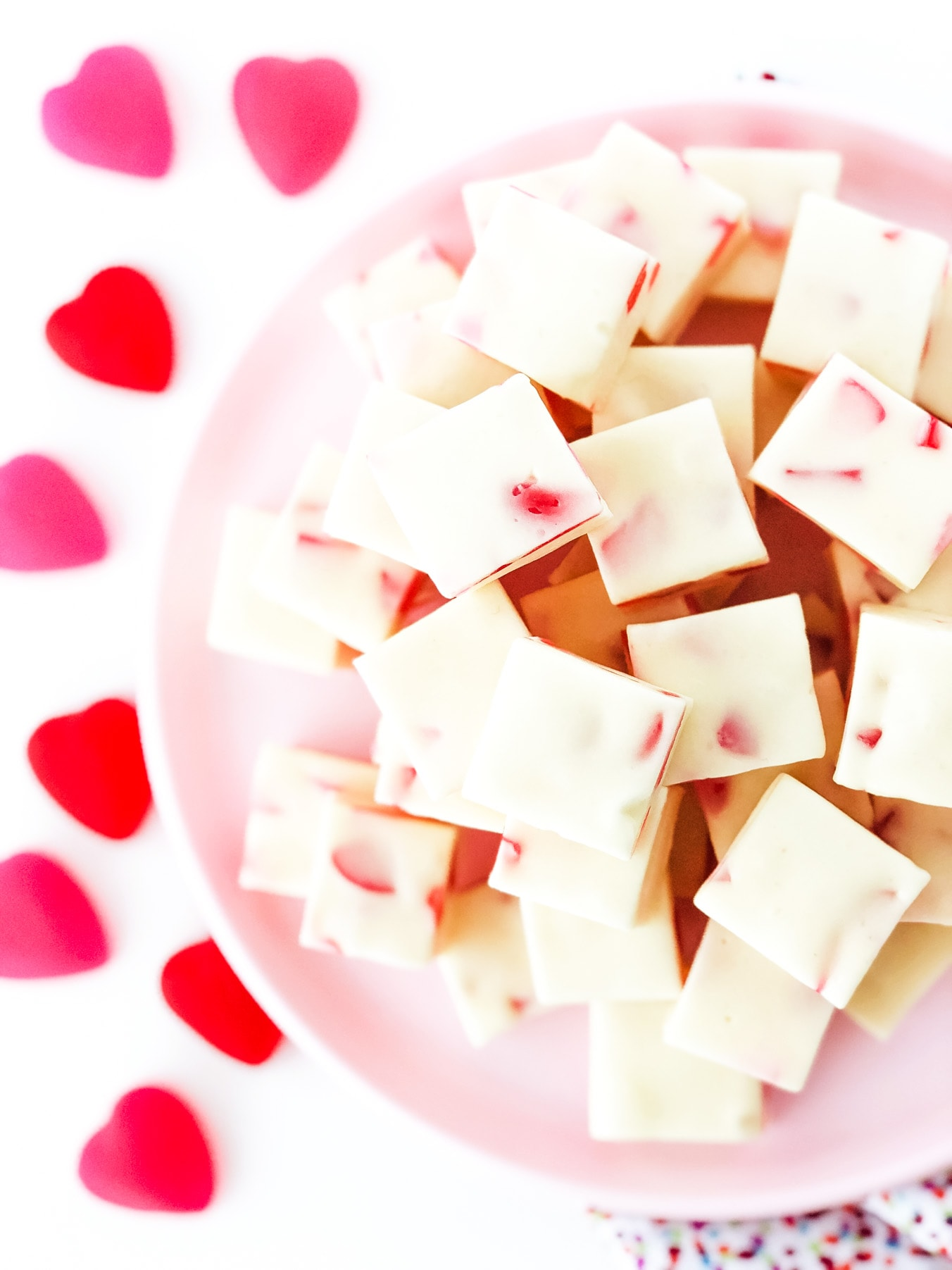 Easy Valentine's Day Nougat Candy