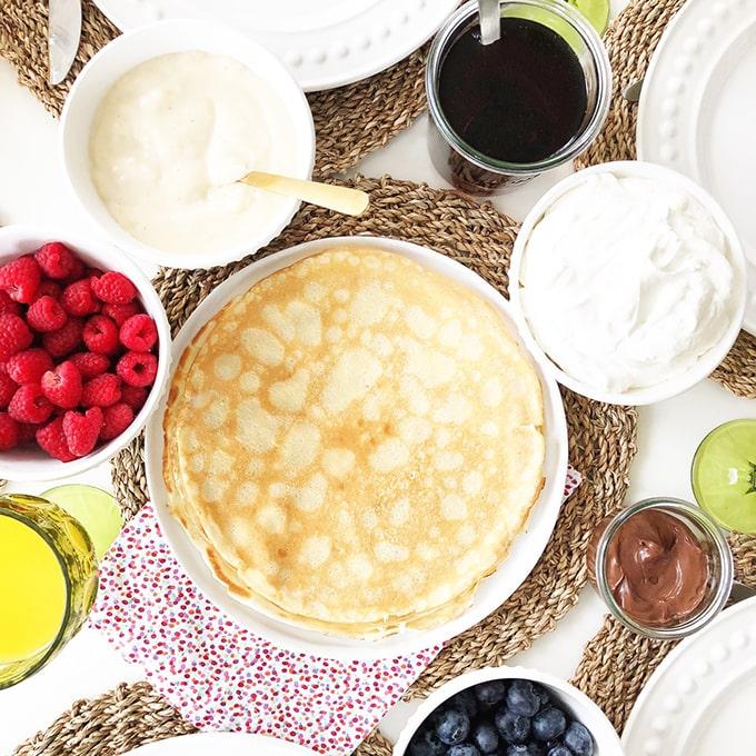 Simple & Delicious Crepes