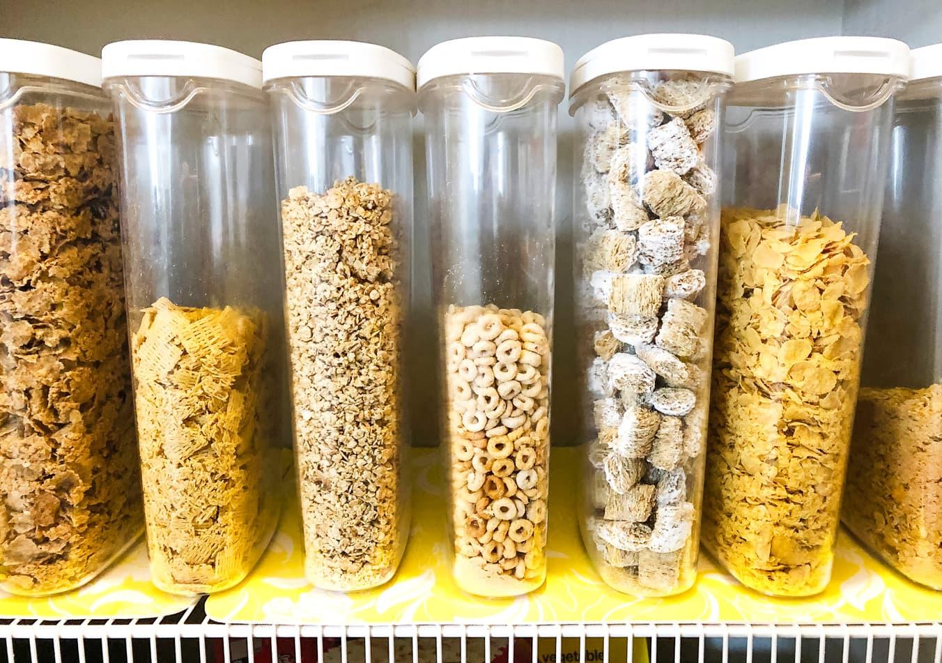 Cereal Storage Idea