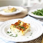 Creamy White Turkey Lasagna Recipe