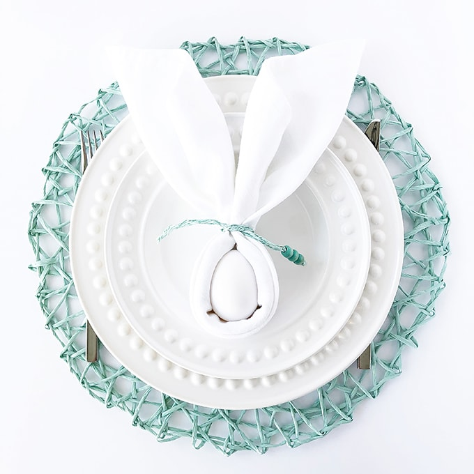 How to Make a Bunny Napkin (Bunny Napkin Fold)