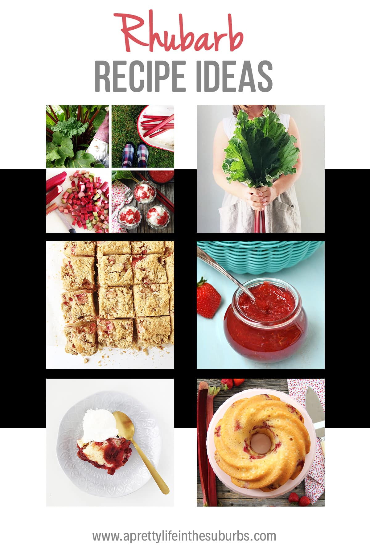 11+ Rhubarb Recipes