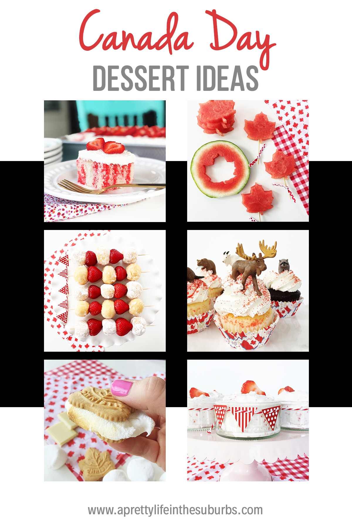 Canada Day Dessert Ideas