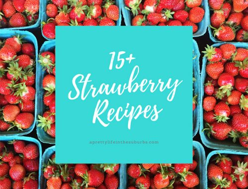 15+ Strawberry Recipes