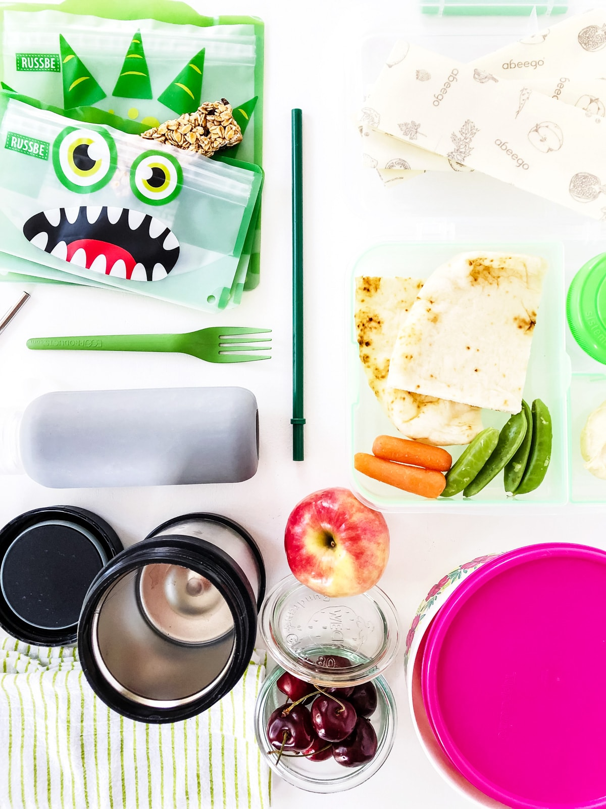 Zero Waste Lunches for Kids